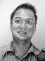 Shrestha Anju<BR>pencil on paper<BR> 37.5 x 53 cm<BR>2010