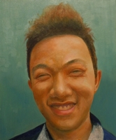 Anil Gurung<BR>oil on canvas<BR>50.8 x 60.6 cm<BR> 2011