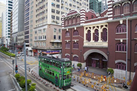 the oldest market building in hong kong completed in 1906 | 2015