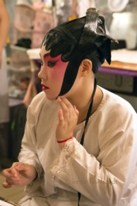 man chun kit is done with her make-up | 2016